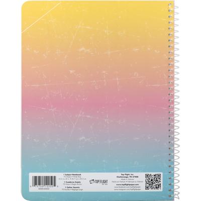 Top Flight Notebook, 1 Subject, Wide Rule
