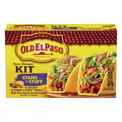Old El Paso Stand 'n Stuff Taco Dinner Kit