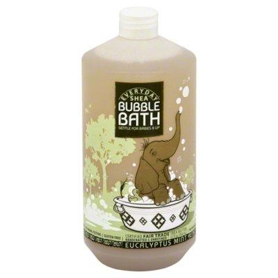 Alaffia Kids Bubble Bath, Eucalyptus Mint