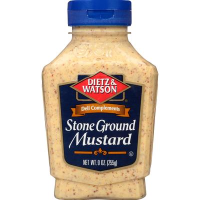Dietz & Watson Mustard, Stone Ground