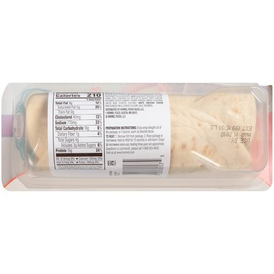 Hormel Natural Choice Ham & Cheddar Wrapped in a Flatbread