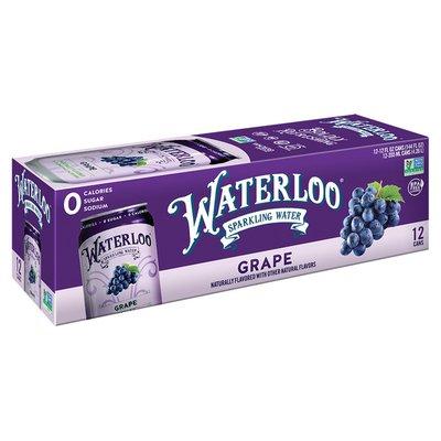 Waterloo Sparkling Water Grape