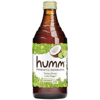 Humm Kombucha Probiotic Coconut Lime