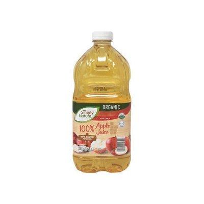 Simply Nature Organic 100% Apple Juice