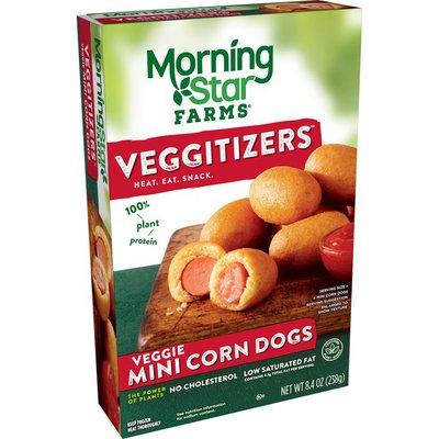 Morning Star Farms Veggie Mini Corn Dogs Original