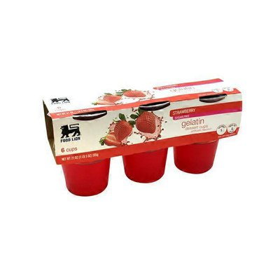 Food Lion Gelatin Dessert Cups