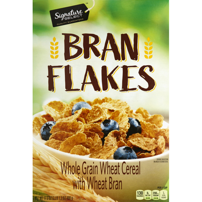 Signature Kitchens Cereal, Bran Flakes