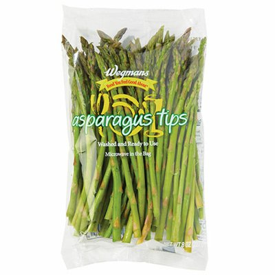 Wegmans Food You Feel Good About Cleaned and Cut Asparagus Tips
