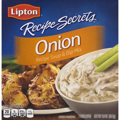 Lipton Soup And Dip Mix Onion