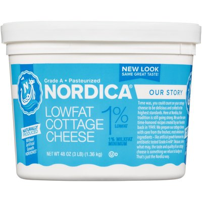 Nordica 1% Lowfat Cottage Cheese