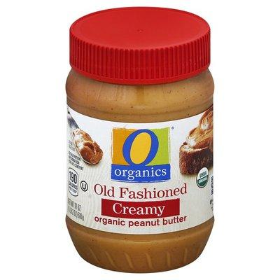 O Organics Creamy Old Fashioned organic peanut butter