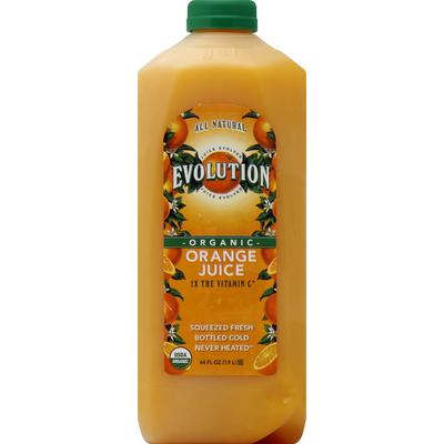 Evolution Juice, Organic, Orange