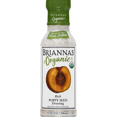 Brianna's Dressing, Poppy Seed