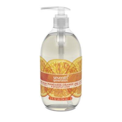 Seventh Generation Hand Soap Mandarin Orange & Grapefruit Scent
