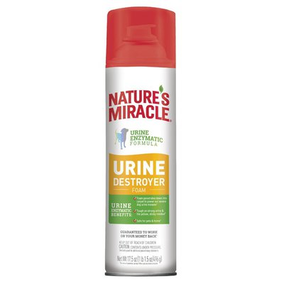 Nature's Miracle Dog Urine Destroyer Foam