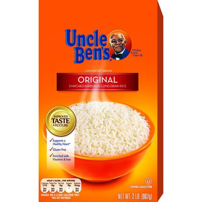 Uncle Ben's Original Converted Brand Enriched Parboiled Long Grain Rice