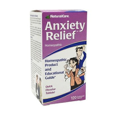 NaturalCare Anxiety Relief, Sublingual Tablets