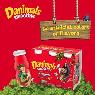 Danimals Strawberry Explosion/Wild Watermelon Smoothies