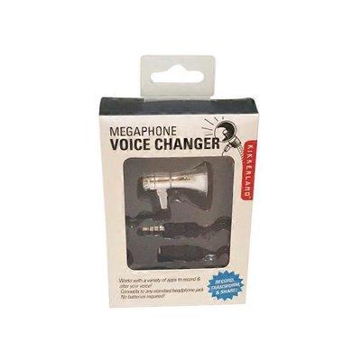 Kikkerland Design Megaphone Voice Changer