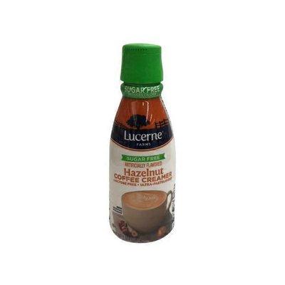 Lucerne FARMS Hazelnut FLAVORED Sugar Free COFFEE CREAMER