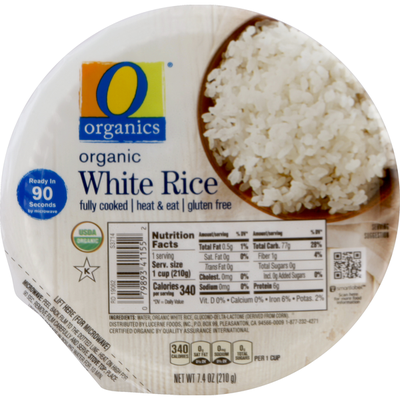 O Organics White Rice, Organic