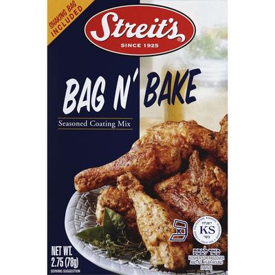 Streit's Seasoned Coating Mix, Bag N' Bake
