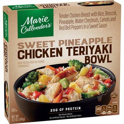 Marie Callender's Sweet Pineapple Chicken Teriyaki Bowl