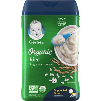 Gerber Organic Rice Baby Cereal