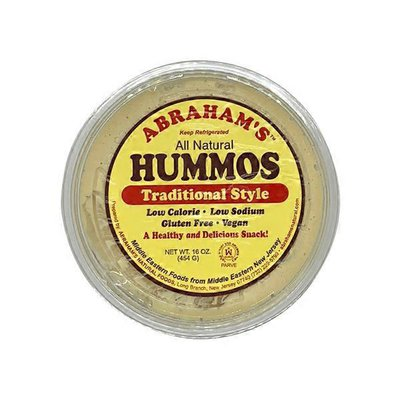 Abraham's Traditional Style Hummos