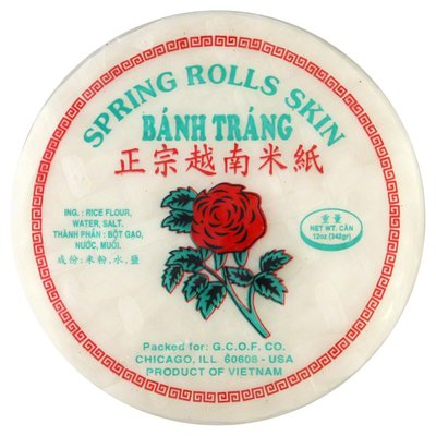 Bahn Trang Spring Rolls Skin