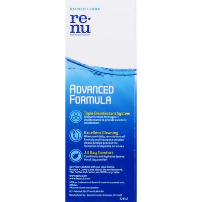 ReNu Multi-Purpose Solution, Advanced Formula