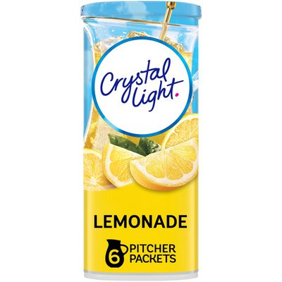 Crystal Light Lemonade Naturally Flavored Powdered Drink Mix