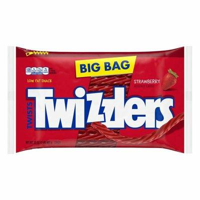 Twizzlers Candy, Strawberry, Twists, Big Bag