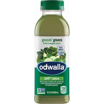 Odwalla Groovin' Greens Fruit & Veggie 100% Juice