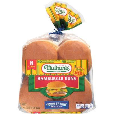 Nathan's Famous Famous Hamburger Buns