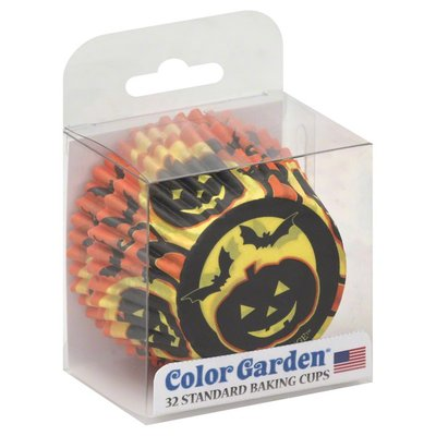 Color Garden Baking Cups, Standard