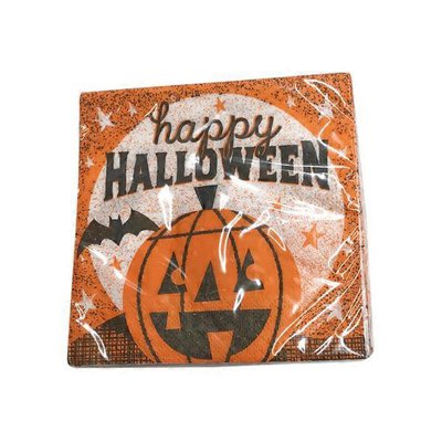 Creative Converting Happy Halloween Beverage Napkins