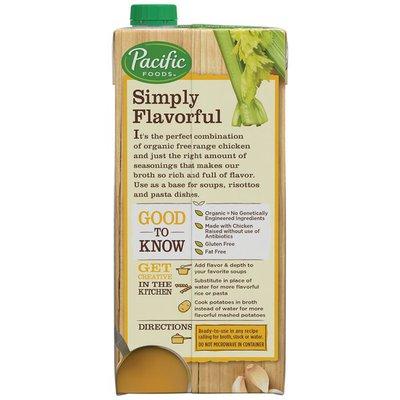 Pacific Foods Organic Low Sodium Chicken Broth