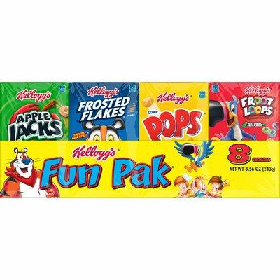Kellogg's Breakfast Cereal, Variety Pack