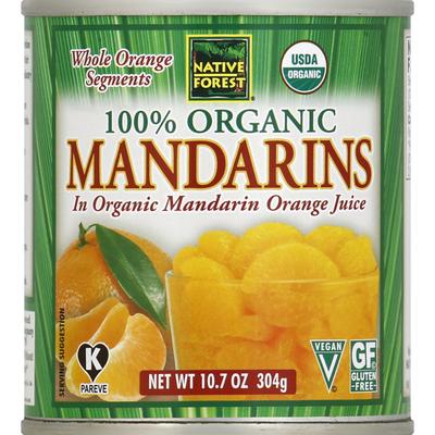 Native Forest 100% Organic Mandarins