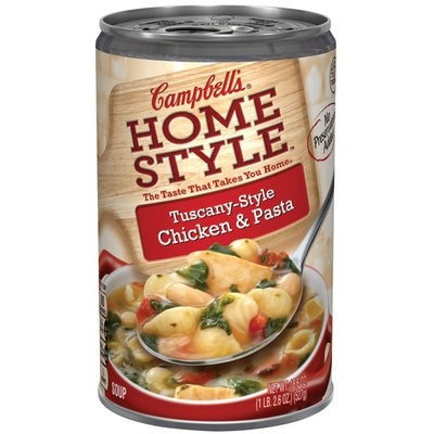 Campbell's® Tuscany-Style Chicken & Pasta Soup