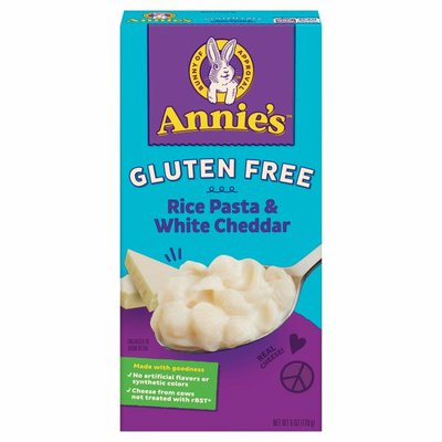 Annie's Shell Pasta & Creamy White Cheddar Macaroni and Cheese, Gluten Free