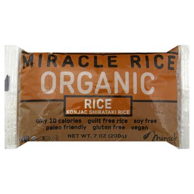 Miracle Noodle Rice, Organic, Konjac Shirataki