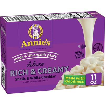Annie's White Cheddar Mac & Cheese, 4 Count