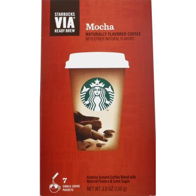 Starbucks Coffee, Instant, Mocha, Single-Serve Packets