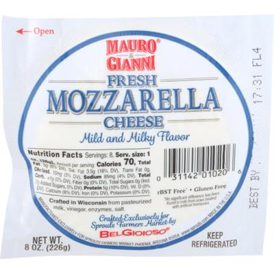 Mauro & Gianni Mozzarella Cheese Ball