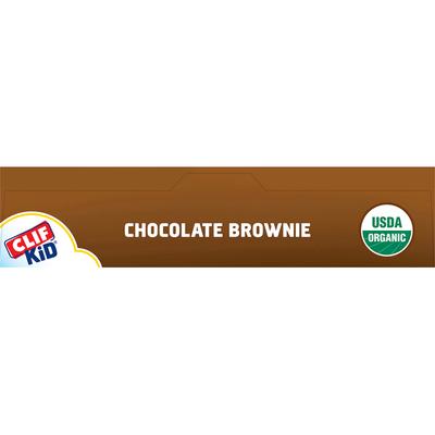 CLIF Kid Organic Chocolate Brownie Baked Whole Grain Energy Snack Bars