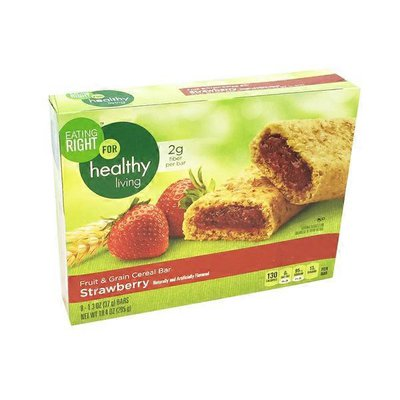 Eating Right Strawberry Fruit & Grain Cereal Bars