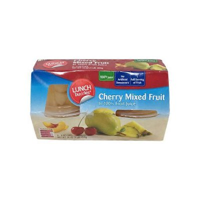 Lunch Buddies Cherry Mixed Fruit In Juice