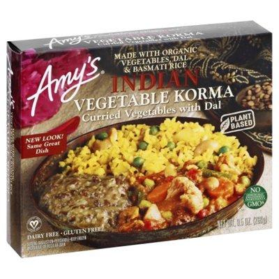 Amy's Indian Vegetable Korma Entrée